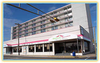 Beach Terrace Motor Inn Wildwood Motel